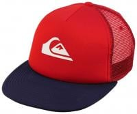 Quiksilver Boy's Snap Addict Hat - Quik Red