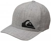 Quiksilver Boy's Final Hat - Light Grey Heather