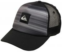 Quiksilver Boy's Hold Down Trucker Hat - Black