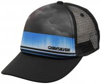 Quiksilver Boy's Slab Dripper Trucker Hat - Black