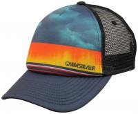 Quiksilver Boy's Slab Dripper Trucker Hat - Moonlit Ocean