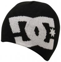 DC Boy's Big Star Beanie - Black / White
