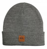 Quiksilver Boy's Brigade Beanie - Black Heather
