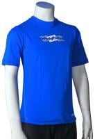 Billabong Boy's Amphibious SS Surf Shirt - Royal Blue