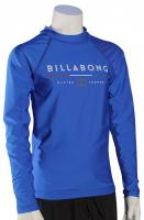 Billabong Boy's All Day LS Rash Guard - Royal Blue