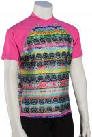 DaKine Girl's Classic SS Rash Guard - Cosmic Gem