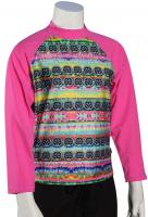 DaKine Girl's Classic LS Rash Guard - Cosmic Gem