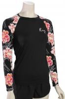 Roxy Fashion LS Lycra Rash Guard - Anthracite Zilla