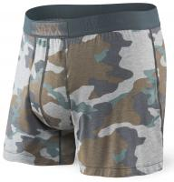 Saxx Ultra Free Agent Boxer - Grey Supersize Camo