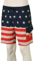 Billabong Fifty50 Layback Shorts - Red / White