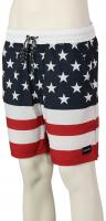 Hurley Patriot Stretch Volley Shorts - Gym Red