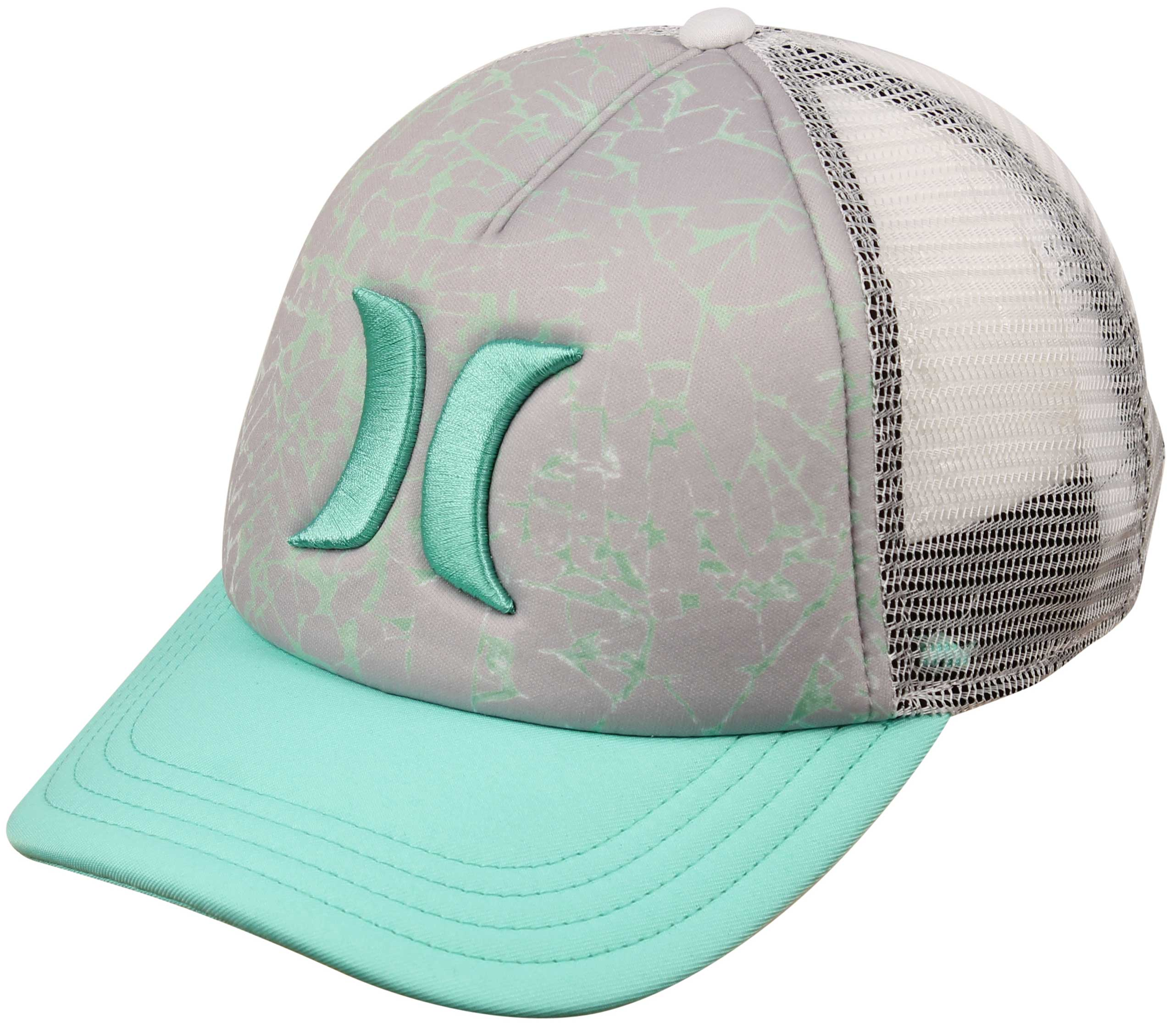 hurley one and only yc trucker hat green glow for sale