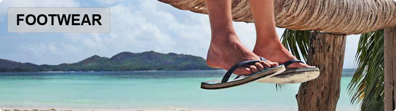 Surfing and Surfboard Inspired Footwear