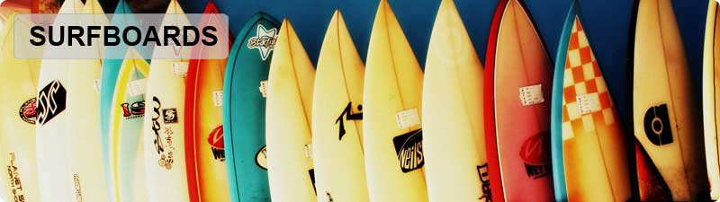 New, Used and Custom Surfboards